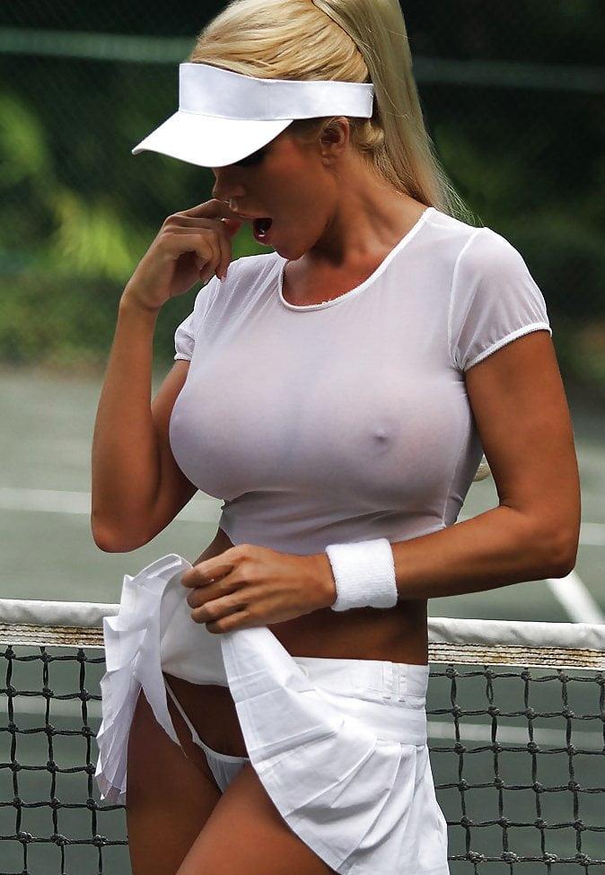 Seksowna tenisistka