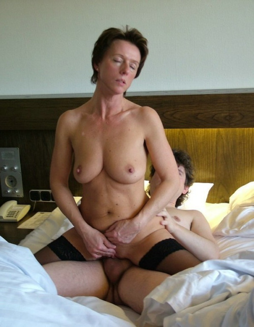 Hotel room sex with hot blonde 10