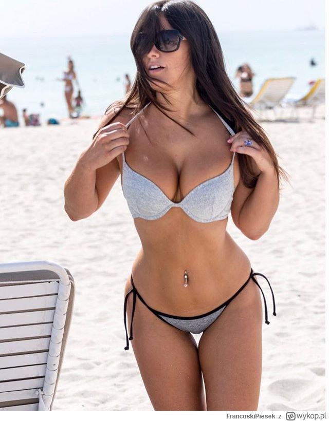 Amatorka na plaży