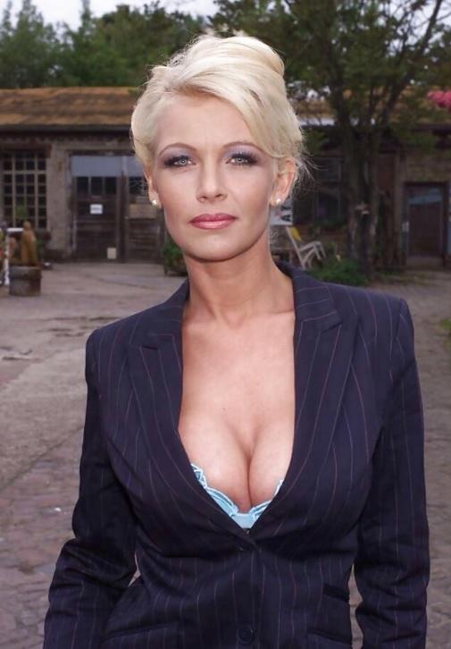 Seksowna biznesswoman