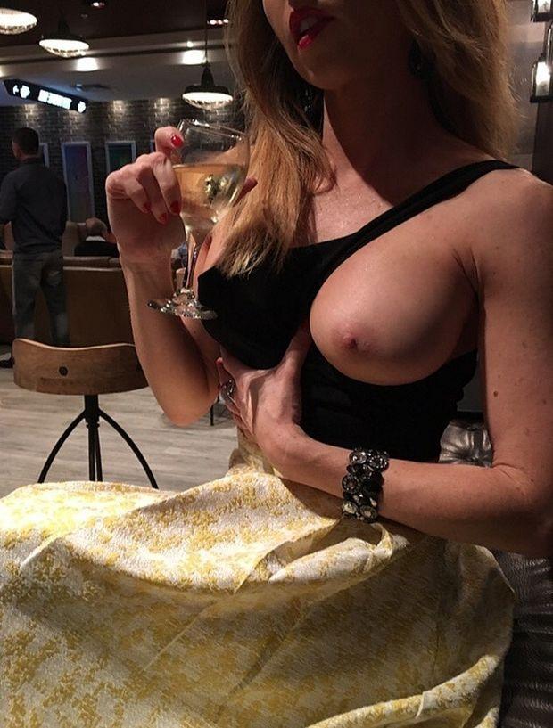 Romantyczna porno kolacja