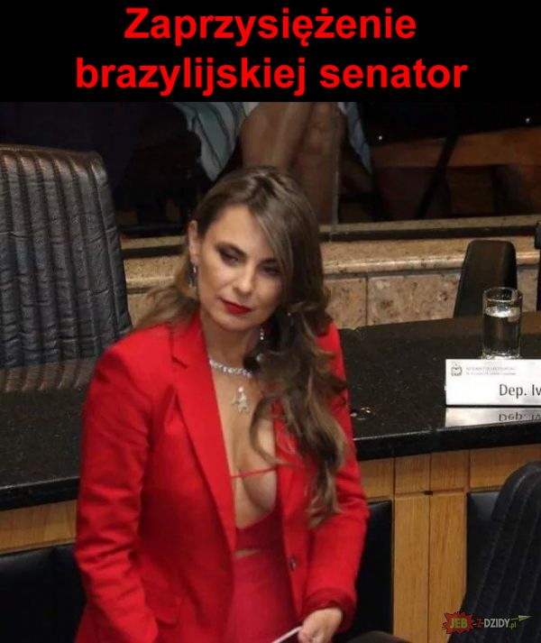 Zaprzysiężenie brazylijskiej senator